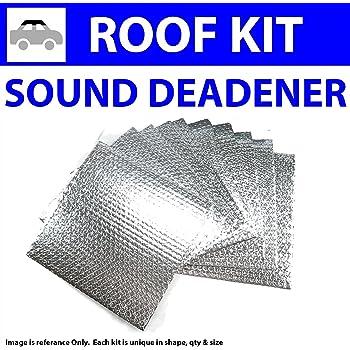 Zirgo 314521 Heat and Sound Deadener for 64-71 Mercedes ~ Floor Kit