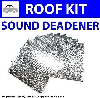 Zirgo 315152 Heat and Sound Deadener for Chevy S10 ~ Master Kit