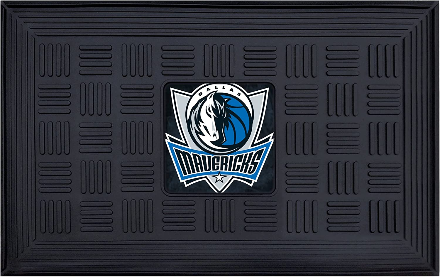 Fanmats 11406 NBA Dallas Mavericks Vinyl Door Mat