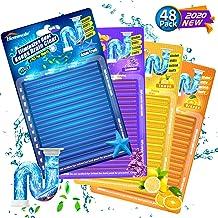 Drain Sticks Drain Stix DrainStix Drain Cleaner Deodorizer Sticks Flexible Non-Fragile for Preventing Clogs Eliminating Sm...