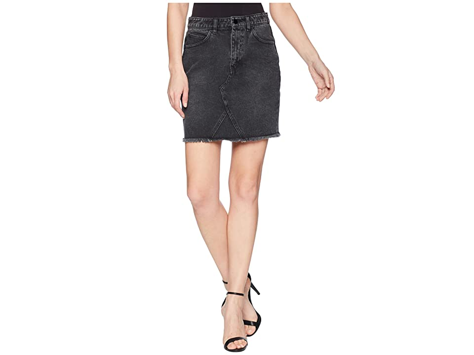 Volcom Stoned Mini Skirt (Smoke) Women