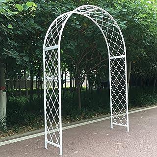 花园拱门 玫瑰门パーゴラ 組立 キット婚礼拱门ガーデンアーチ玫瑰 拱门 庭院 园艺 Artch庭院 、室内、室外、草地、后院、阳台