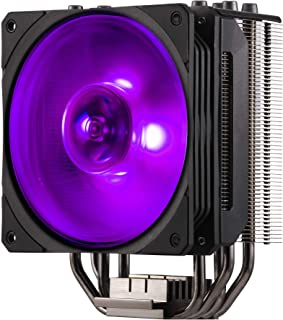 Cooler Master Hyper 212 RGB Black Edition CPU Air Cooler, 4 Direct Contact Heat Pipes,m 120mm RGB Fan | RR-212S-20PC-R1