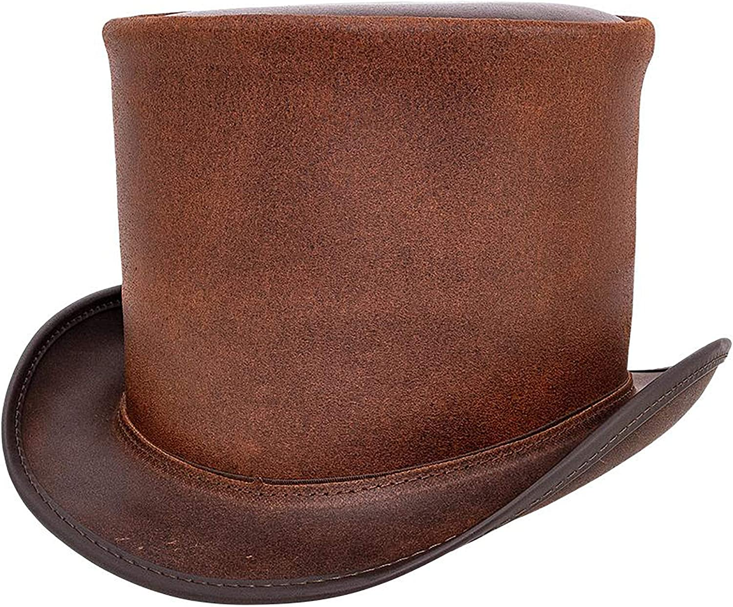 American Hat Makers Topper Very popular Top — Unbanded Tall service Handcr