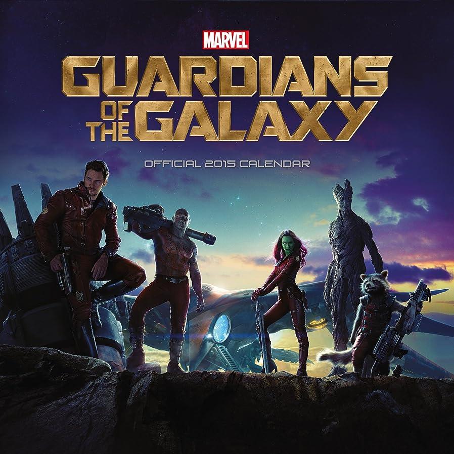 恥ずかしさビンぴったりOfficial Guardians of the Galaxy Square Calendar 2015 (Calendars 2015)
