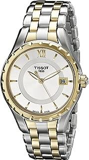Women's TIST0722102203800 T-Lady Analog Display Swiss Quartz Two Tone Watch