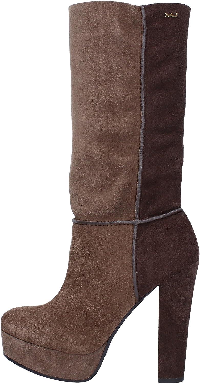 MAKI UEHARA TOKYO Boots Womens Suede Brown