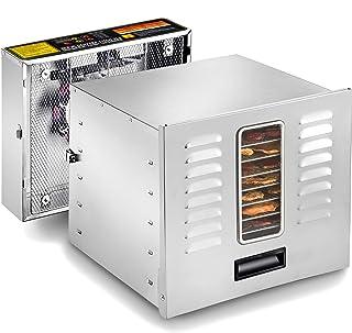 STX International STX-DEH-1200W-XLS Dehydra Commercial Grade Stainless Steel Digital Food Dehydrator - 10 Trays - 1200 Wat...