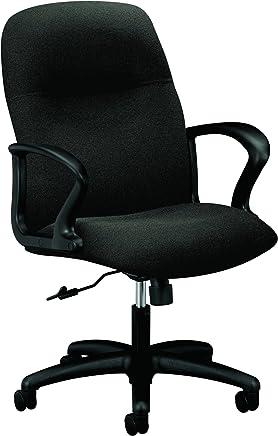 HON 2072CU10T Gamut Series Managerial Mid-Back Swivel/Tilt Chair,  Black
