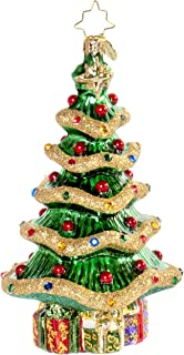 Christopher Radko Dazzling Garland Christmas Tree Christmas Ornament