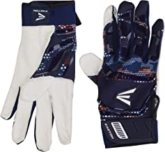 EASTON WALK-OFF Batting Glove Series   Pair   Adult   Youth   Baseball Softball   2020   Premium Smooth Leather Palm   Lycra for Flexibility & Silicone for Structure & Look   Neoprene Pull Tab Closure