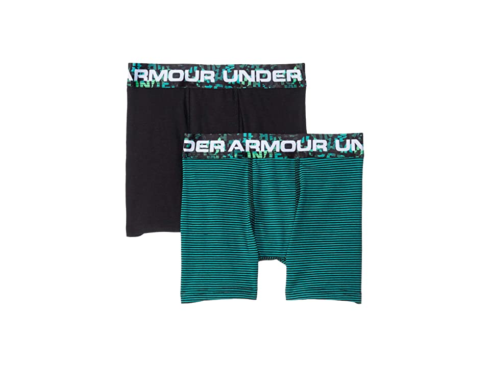 Under Armour Kids - Under Armour Kids 2-Pack Solid Cotton Boxer Set