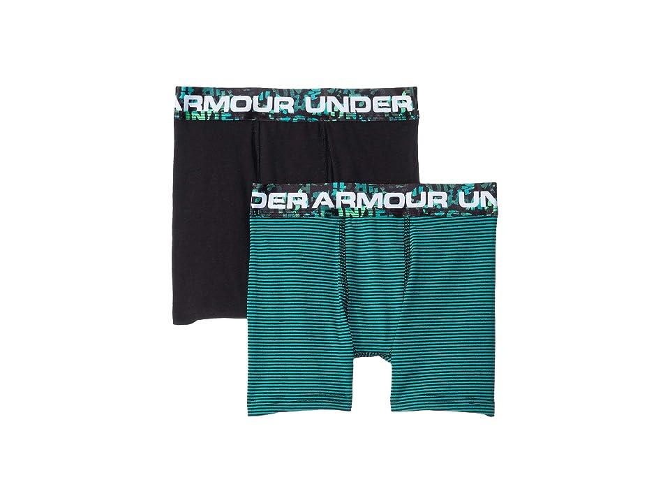 Under Armour Kids - Under Armour Kids 2-Pack Solid Cotton Boxer Set