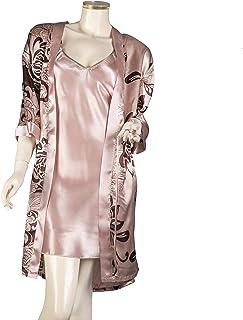 قميص ناعم حريري ورداء للنساء