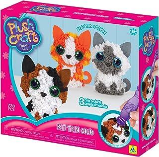 The Orb Factory Plushcraft Kitten Club 3D Soft Craft