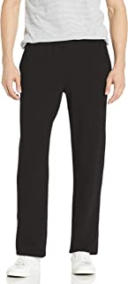 Hanes Men's Jersey Pant, Black, Medium