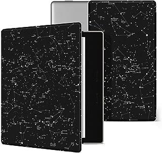Capa para Novo Kindle 10a geração(aparelho com iluminação embutida) - rígida - sistema de hibernação (Constelações)
