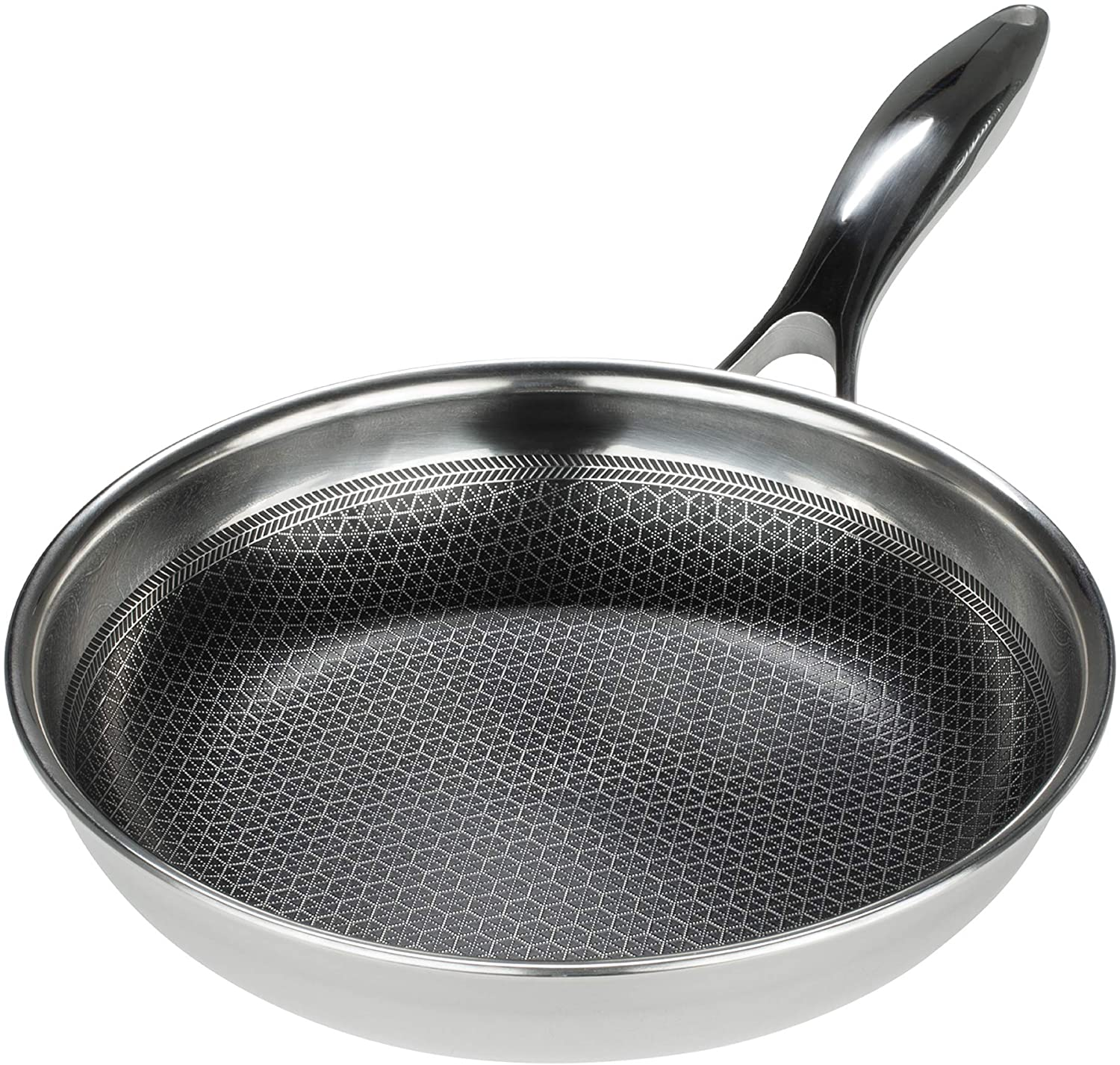 Black Cube Hybrid – Stainless Steel Pan with Non-Stick Coating