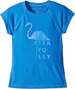 Seafolly Kids Summer Essentials Short Sleeve Rashie (Little Kids/Big Kids)