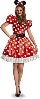 womens minnie mouse fancy dress costume