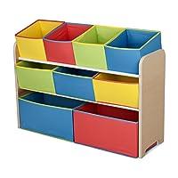 Deals on Delta Children Deluxe 9-Bin Toy Storage Organizer