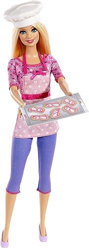Mattel Barbie BDT28 - Puppe, Ich w  gern Pl chenb erin