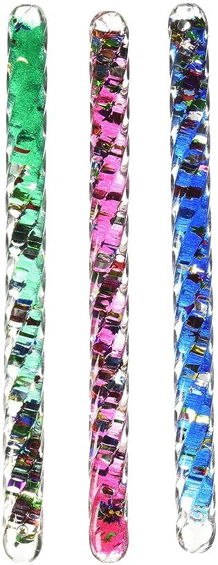 Toysmith Dinki Glitter Tubes - 6 1/2 inch - Set of 3
