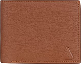 USL Genuine Stylish Latest Leather Wallet for Men (Brown)