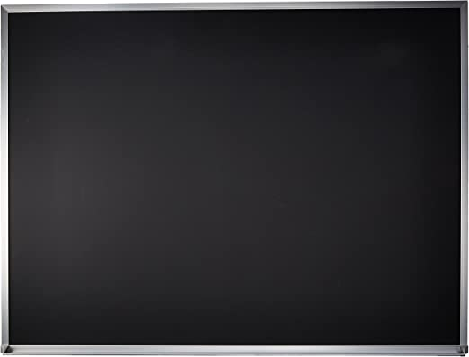Amazon Com Quartet Chalkboard 4 X 3 Chalk Board Black Board Aluminum Frame Eca304b Quartet Chalk Board Office Products