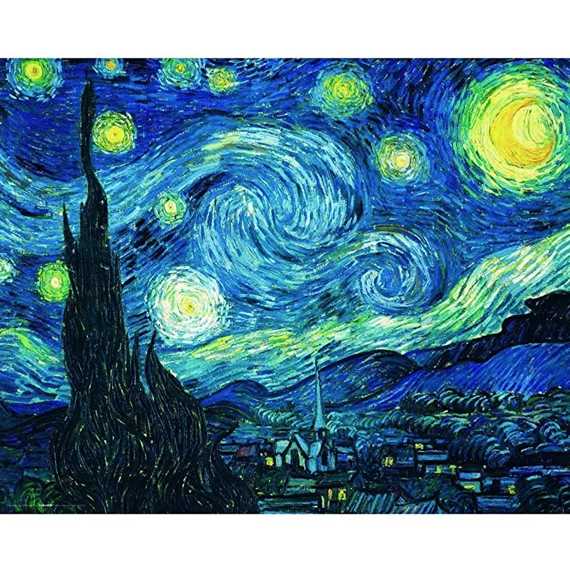 5D Diamond Painting Kit Full Drill Abstract Starry Sky DIY Rhinestone Embroidery Cross Stitch Arts Craft for Home Wall Decor 11.8 x 15.8 inch