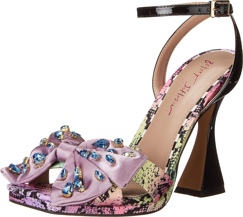 Betsey Johnson Women's Loise Heeled Sandal