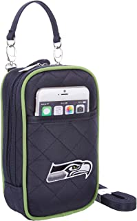 Charm14 MLB Crossbody Bag Quilt-Embroidered Logo-Fits All Phones by
