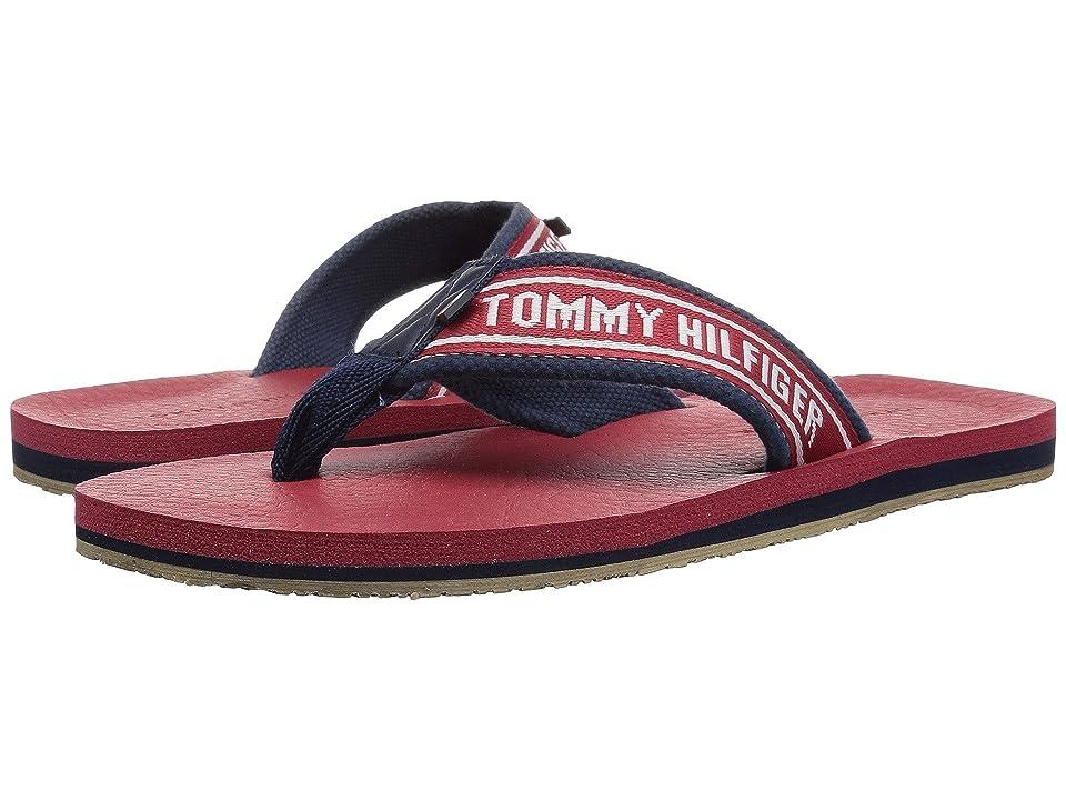 Tommy Hilfiger Doland (Dark Red Fabric) Men