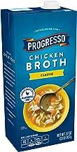 Progresso Gluten Free Fat Free Chicken Broth 32 oz Aseptic Pk (pack of 12)