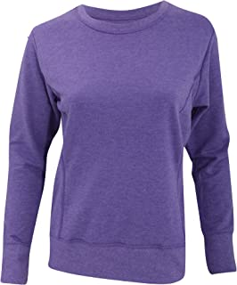 Anvil Womens/Ladies Mid-Scoop French Terry Semi-Fitted Sweatshirt