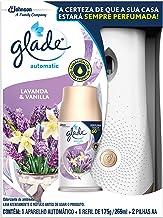 Desodorizador Glade Automatic Spray Aparelho + Refil Lavanda & Baunilha 269ml