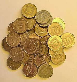 Israel Coin 10 Agorot