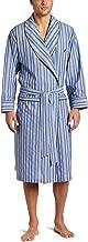 Nautica Men's Long Sleeve Lightweight 100% Cotton Shawl Collar Woven Robe