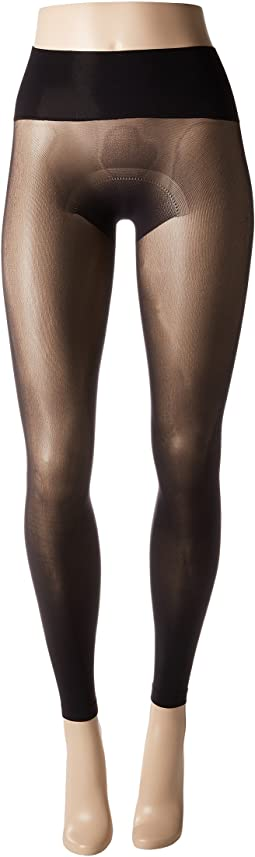Flat-tering Fit Opaque Footless Tights