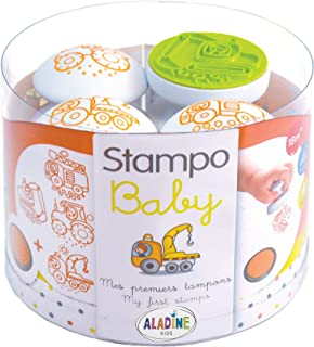 Aladine - 3808 - Loisir Créatif - Stampo Baby - Engins