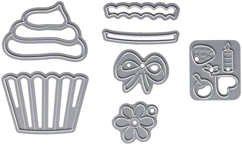 Elizabeth Craft Designs Elizabeth Craft Metal Die-Cupcakes, 1.9