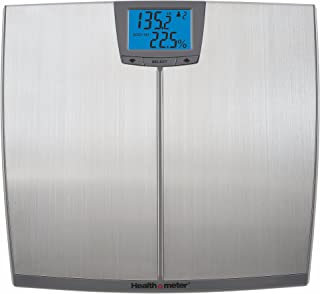 Health O Meter BFM144DQ3 99 Stainless Steel Body Fat Scale, 4.15 Pound