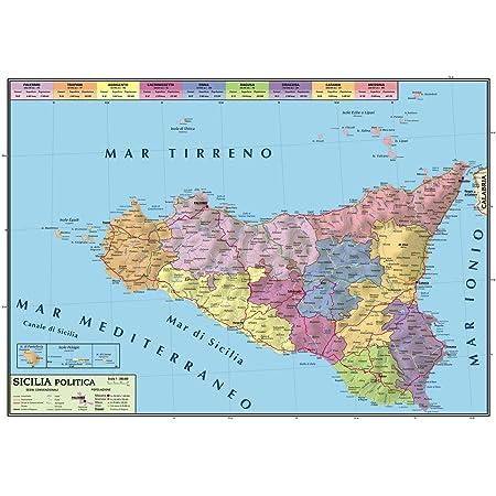 Regione Calabria Cartina Politica.Carta Geografica Murale Regionale Calabria 100x140 Bifacciale Fisica E Politica Amazon It Cancelleria E Prodotti Per Ufficio