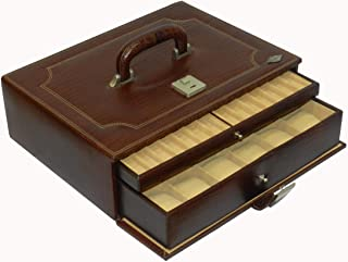 Laveri Genuine Leather 18 Watches, Pen With Ring and Cufflinks Box