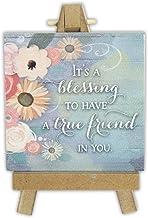 Abbey Gift True Friend Mini Plaque On Easel