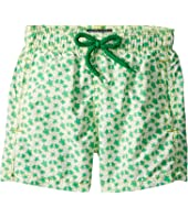 Vilebrequin Kids - Micro Ronde Des Tortues Swim Trunk (Toddler/Little Kids/Big Kids)
