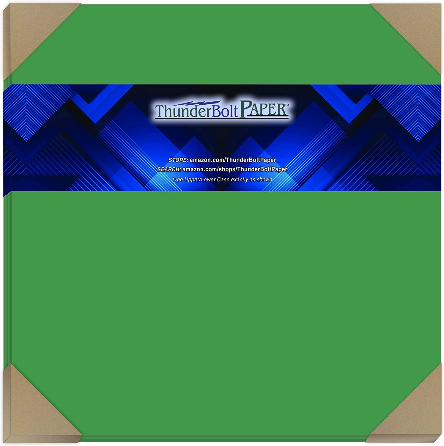 100 Bright Green 65lb Cover free shipping Card Paper Dedication X - 12