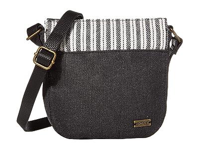 Roxy Soleado Crossbody (Anthracite) Cross Body Handbags
