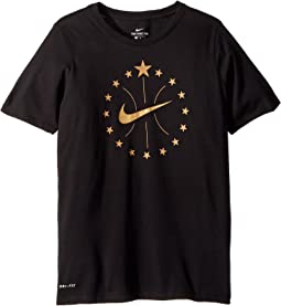 Nike Kids Dry Stars Tee (Little Kids/Big Kids)