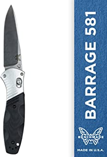 Benchmade - Barrage 581 Knife, Drop-Point Blade